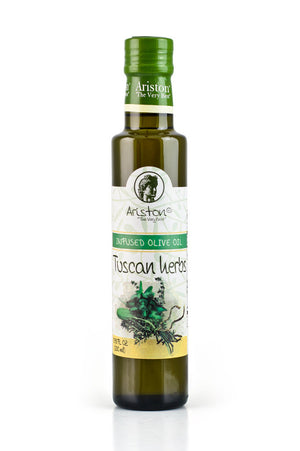 Ariston Tuscan Herbs Infused Olive Oil 8.45 fl oz - The Cook's Nook Gourmet Kitchenware Store Tulsa OK