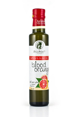 Ariston Blood Orange Infused Olive oil 8.45 fl oz - The Cook's Nook Gourmet Kitchenware Store Tulsa OK