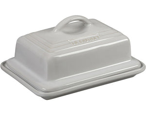White Heritage Butter Dish - The Cook's Nook Website