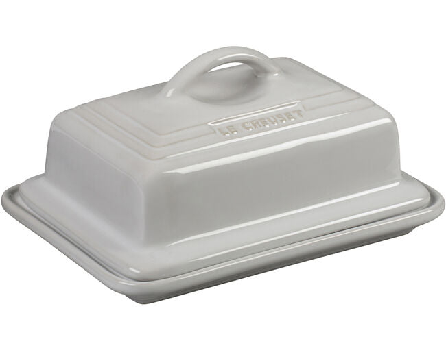 White Heritage Butter Dish