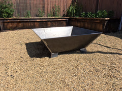 Large Square Fire Pit
