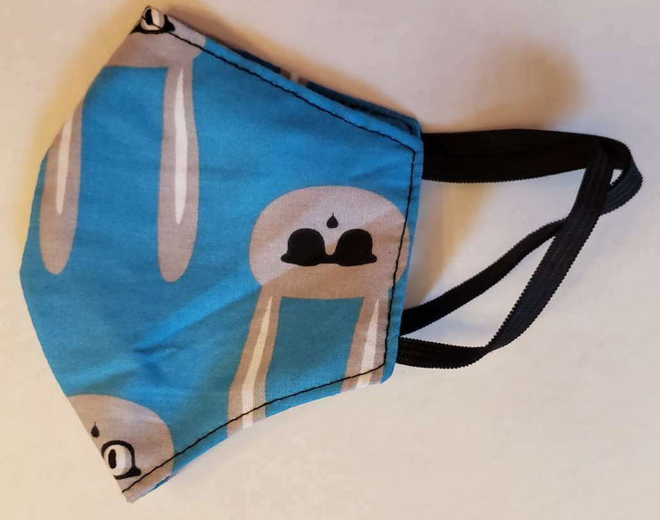 Face mask 100% cotton, Washable, Breathable fabric face nose cover - USA