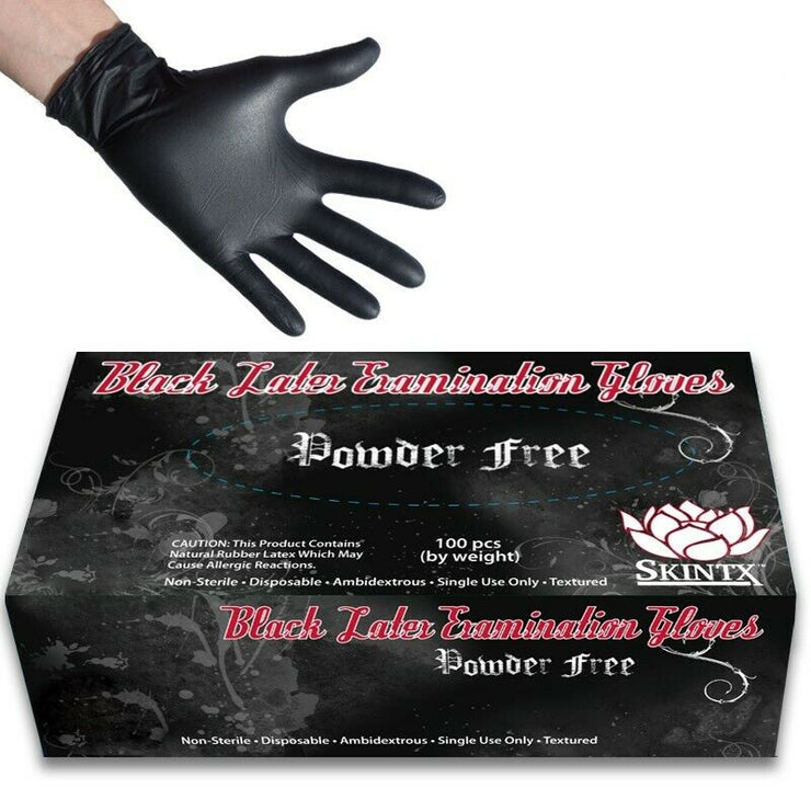 Latex Medical Grade Examination Powder Free gloves USA - 100 pcs - Large