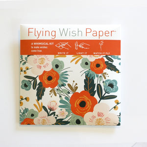 Flying Wish Paper - Orange Blossoms