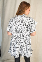 Load image into Gallery viewer, Polka Dot Baby Doll Blouse