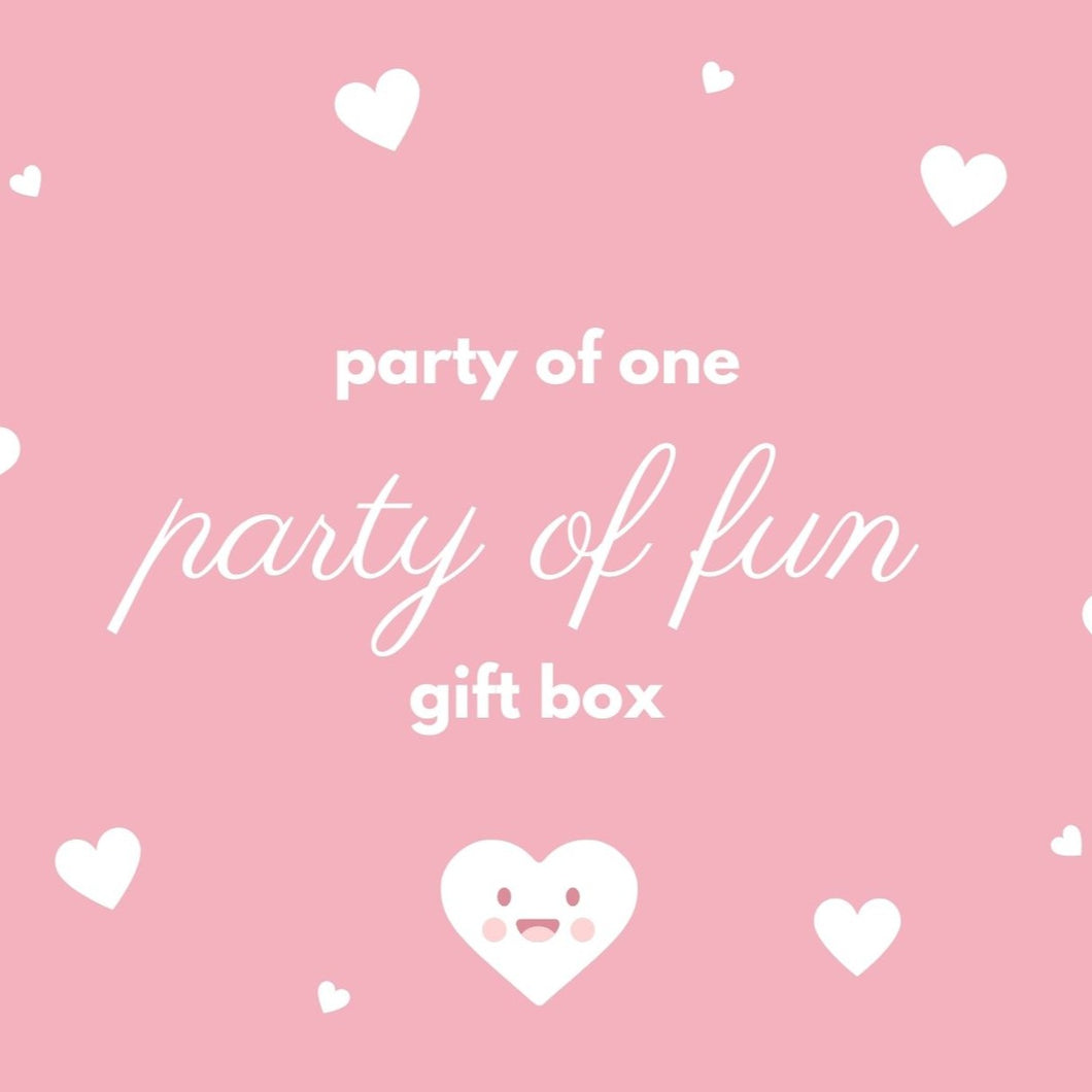 Party of One, Party of Fun Gift Box