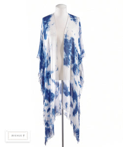 Long Tie Dye Cover-Up