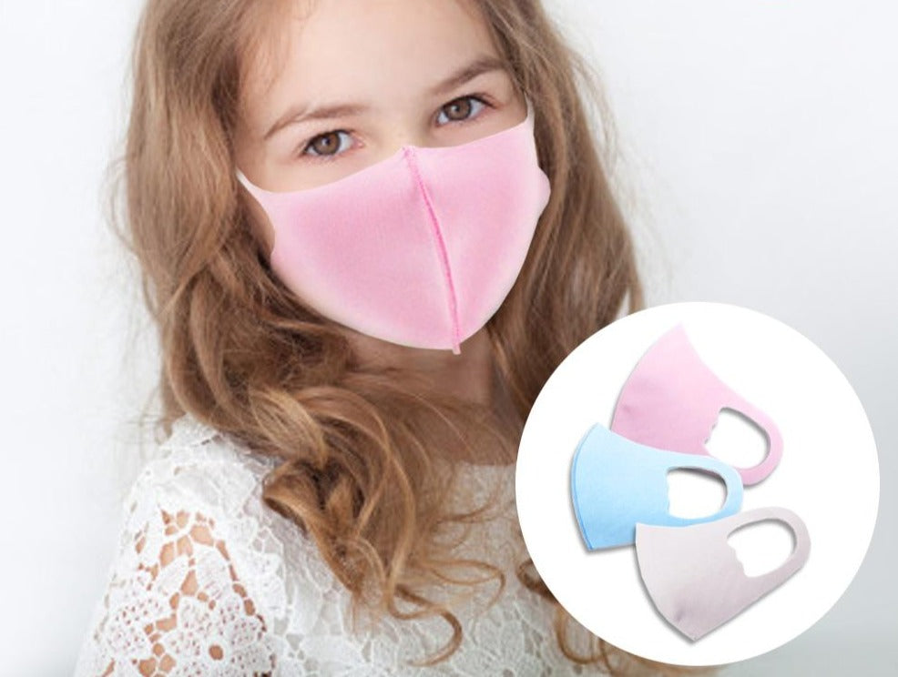 Kid's Solid Fashion Mask