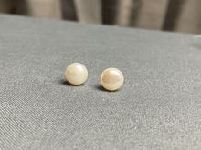 Load image into Gallery viewer, Sterling Freshwater Pearl Earrings