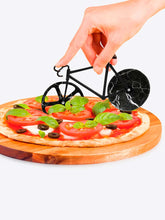 Load image into Gallery viewer, Bicycle Pizza Cutter - Black Marble