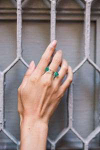 Sea Glass TKO Ring - 1/4""