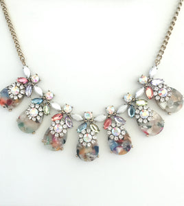 Cotton Candy Statement Necklace