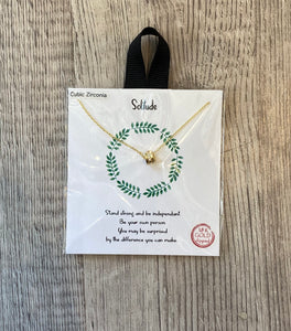 Solitude Necklace