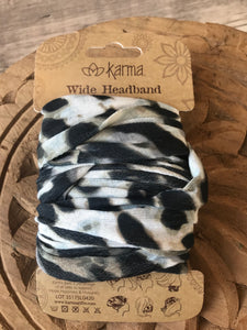 Wide Headband - Leopard Print