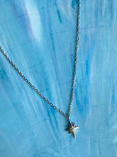 Load image into Gallery viewer, Moravian Star Sterling Necklace