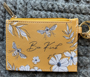 """Bee Kind"" ID Holder"