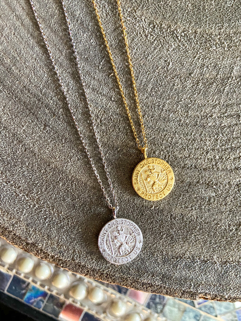 St. Christopher Dainty Necklace