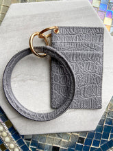 Load image into Gallery viewer, Wallet + Keychain Bangle