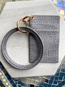 Wallet + Keychain Bangle