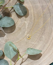 Load image into Gallery viewer, Moon and Star Dainty Necklace