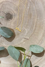 Load image into Gallery viewer, Mountain Dainty Necklace