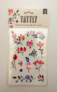 Tattly Temporary Tattoo Sheet