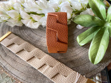Load image into Gallery viewer, Faux Leather Stair Cuff