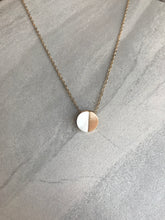 Load image into Gallery viewer, Half-Moon Stone Pendant