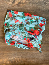 Load image into Gallery viewer, Half Headband - Teal Florals
