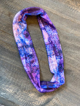 Load image into Gallery viewer, Thin Headband - Purple Watercolor