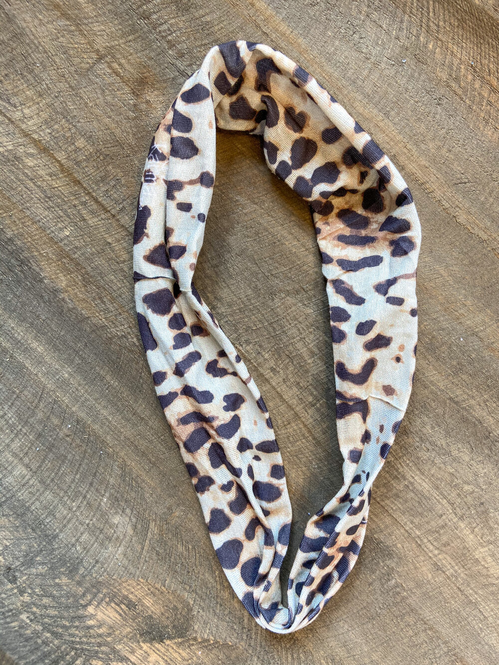 Thin Headband - Leopard