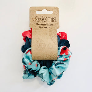 Scrunchies- Set of 3