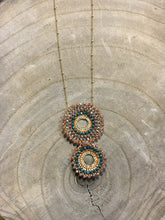 Load image into Gallery viewer, Two-Tiered Beaded Necklace