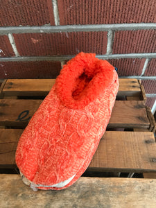 Snoozies Chenille Slippers