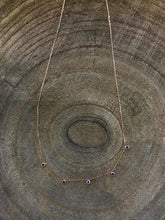 Load image into Gallery viewer, Dainty Gem Necklace