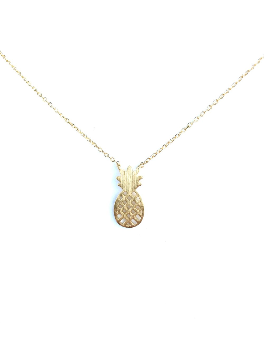 Pineapple Dainty Necklace
