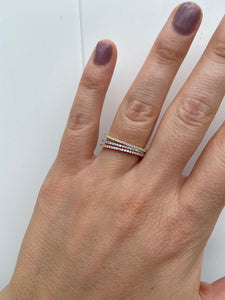 Thin Stacking Ring - Rose Gold
