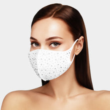 Load image into Gallery viewer, Bling Embellished Fashion Face Mask