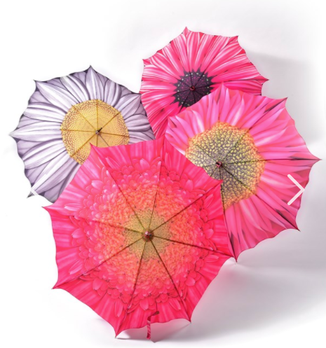 Flower Design Umbrella