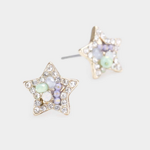 Load image into Gallery viewer, Clustered Star Earring