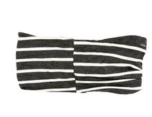 Load image into Gallery viewer, Grey Striped Headband
