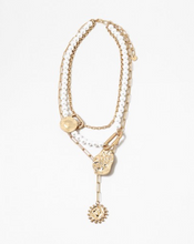 Load image into Gallery viewer, Layered Lariat Necklace