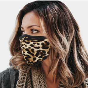 Cotton Leopard Mask