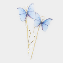 Load image into Gallery viewer, Whimsical Butterfly Earring