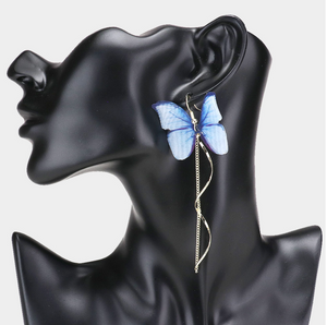 Whimsical Butterfly Earring