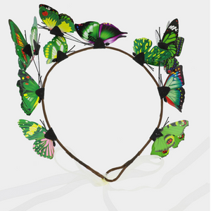 Butterfly Crown Headband