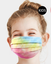 Load image into Gallery viewer, Kids Tie Dye Mask