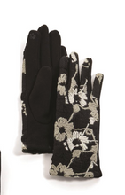 Load image into Gallery viewer, Embroidered Gloves with Touchscreen Fingertips