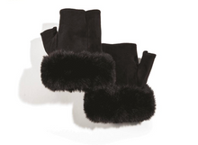 Load image into Gallery viewer, Micro Suede Fingerless Gloves