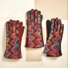 Load image into Gallery viewer, Rainbow Embroidered Gloves